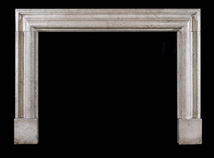 Romanesque Marble Fireplace Model Mfp110 Houston Tx