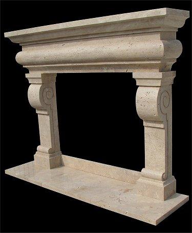 Marble Fireplace Mantle Surround Model Mfp213 Houston Tx