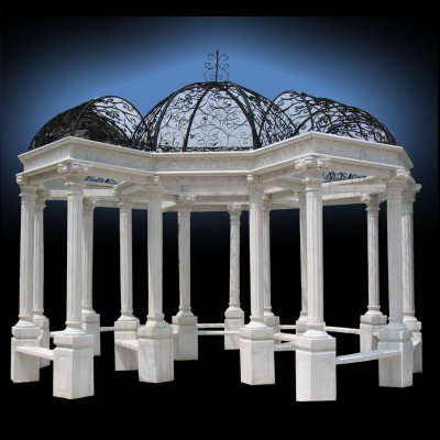hand carved european marble arbor houston tx hand carved