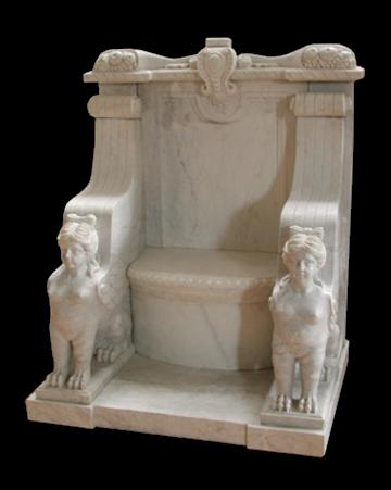 Etruscan Marble Chair Model Mb107 Houston Tx Solid