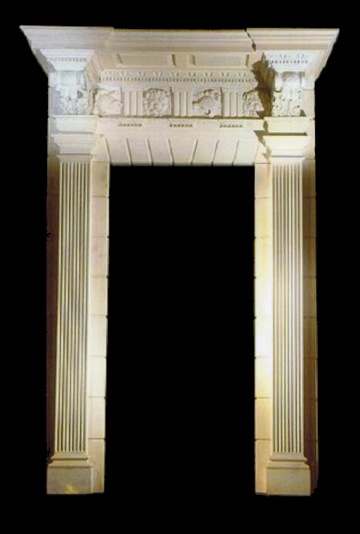 DOOR SURROUNDS – MODEL DS111 Houston Tx - Marble Interior ...
